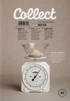 Collect magazine #magazine #revista #cover #capa #design #editorial