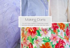 tutorial on Making a Dart from Sew 4 Home