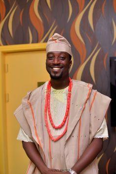 Nigerian wedding fila coral beads agbada aso oke gele beads naija