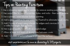Tips on Painting Furniture by @jenna_burger on www.sasinteriors.net
