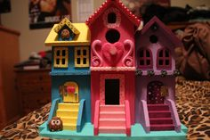 Adorable Colorful Birdhouse by TheCreativeKitten on Etsy