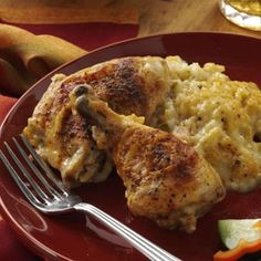 Sunday Chicken Recipe-someone said:This was my mother's favorite recipe for Sunday—hence the name. It makes an excellent recipe for Sunday dinner, because it can be prepared ahead of time and left to bake while you attend church. The leftovers also freeze well.