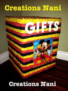 box gits / caja de regalo