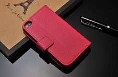 For Iphone 4/4S  Luxury HandMade Genuine Pink by PassionForLeather, $14.99