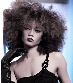 Cynthia Bailey Curly Hairstyles Like. long brown curly frizzy
