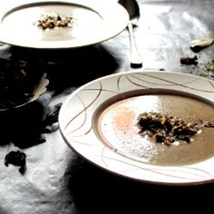 Polish soup with dried mushrooms by Matmedmera