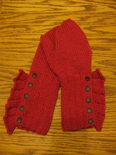 ayarnlover's Plain Talk Ruffled Mittens