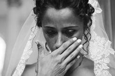 Such beautiful emotion in this photo by  DWJohnson Studio, Chicago, Illinois | via junebugweddings.com