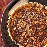 Chocolate-Mixed Nut Tart
