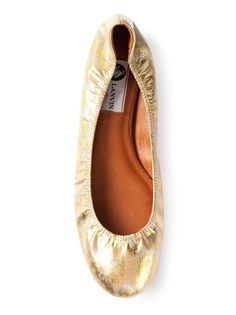 Shop now: Lanvin ballerina flats