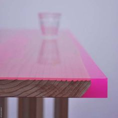 Designed by jo nagasaka. Flat table peeled at spazio rossana orlandi