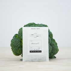 Image of Broccoli - Organic Seeds