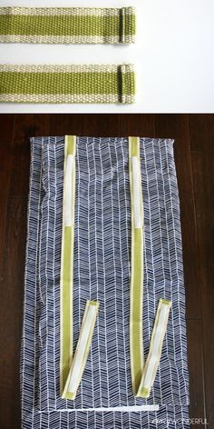 DIY nap mat cover |