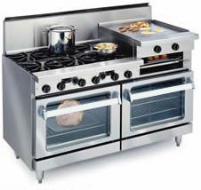 Imperial Range Stoves, exquisite commercial quality stoves for home