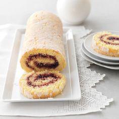 Jelly Roll #DelishCookingSchool #jellyroll #dessert