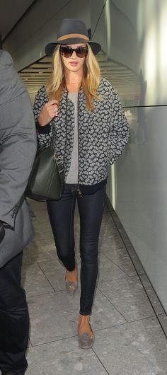 Rosie Huntington Whiteley ***Looking gorgeous wearing my Spring uniform   SLUFOOT