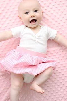 Baby Bubble Skirt - delia creates