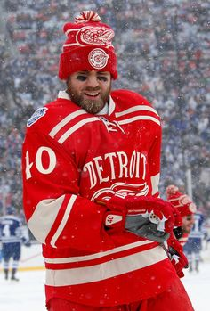 Henrik Zetterberg, NHL Winter Classic, 01/01/2014