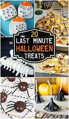 20 Last Minute Halloween Treats!! { lilluna.com }