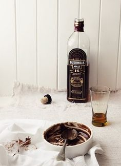 What Katie Ate » Mocha Chocolate Mousse with Bushmills 16 Year Irish Whiskey
