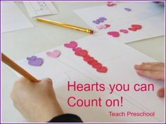 Hearts you can count on by Teach Preschool