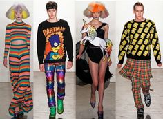 Jeremy Scott y la Bart Simpson Manía - Cranberry Chic