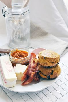 Maple Pumpkin Biscuits and Maple Candied Bacon
