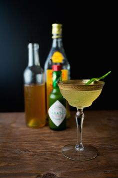 Chez Us | Green Jalapeño Pineapple Shrub | http://chezus.com