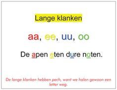 lang klanken, school, letter, groep, onderwij, leren, taal, lezen, spell