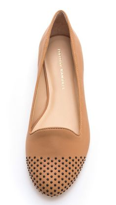 LOVE these studded flats.