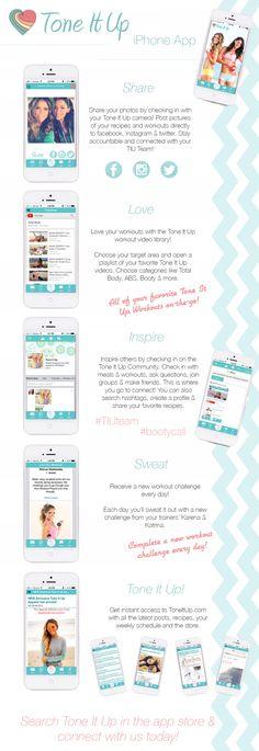 Tone It Up iPhone App!!!