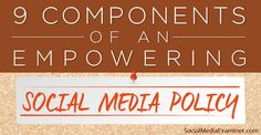 Great guide to help teachers develop a social media policy for their school.