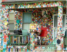 Dotty-wotty house by Tyree Guyton. Photo by Kim Ripley