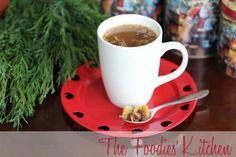 Guatemalan Spiced Fruit Punch (Ponche de Frutas Guatemalteco) by The Foodies' Kitchen