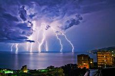 My Lighting Goes To Eleven,Yalta, Ukraine,  Russia by Lazarenko Denis