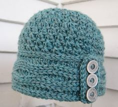 Mr. Micawber's Recipe for Happiness: Two Roads Hat Free Crochet Pattern & Tutorial ~ Version Two (with Slip Stitch Band)