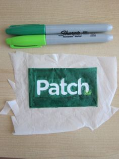 """decorate w/sharpies, iron onto felt backing. tutorial via cerritos.patch.com. """"de-merit"""" badges, keychains, backpack danglers, buttons, lots of fun applications."""