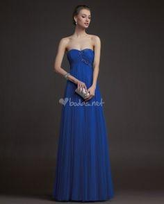 Vestido azul de Aire Barcelona - http://www.bodas.net/cat-DressList.php?tipo=2&Disenador=25
