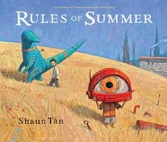 """JJ STORIES TAN. Two boys explain the occasionally mysterious """"rules"""" they learned over the summer, like never eat the last olive at a party, never ruin a perfect plan, and never give your keys to a stranger."""