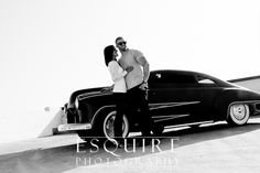 If you like this, be sure to check out the totally MEGA gorgeous video of their Engagement Shoot at:  http://esquirephotography.com/samantha-vinces-awesome-engagement-photo-shoot-in-oceanside-california-with-their-dog-baloo-a-sick-vintage-car/ - cheers!