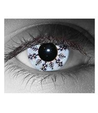 Snowflake Costume Contact Lenses - Contact Lenses