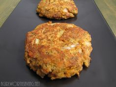 #paleo Salmon Cake: 1 6-oz. can of Boneless and Skinless Salmon; ½ of a medium onion, diced; 1 tbsp. + 1 tsp. of Coconut Flour; 2 eggs; 1 rib of celery, diced; 1 tbsp of dried dill; 1 tsp of lemon pepper; ¼ tsp of Celtic Sea Salt; 3 tbsp of coconut oil/butter/ghee