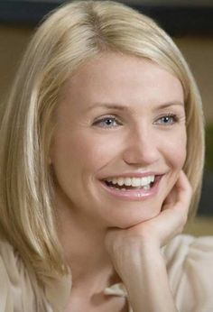 """I wish I had the patience to maintain and style Cameron Diaz's haircut from the movie """"The Holiday."""""""