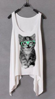 kitty tank top