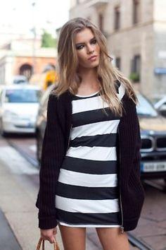 ##STRIPES  #Fashion #New #Nice #FashionStripes #2dayslook  www.2dayslook.com