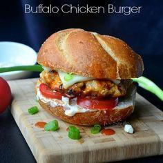 Buffalo-Chicken-Burger cr willcookforsmiles.com