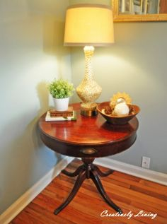 How to Refinish a Table in 1 Hour! (Quick Refinishing Class #1) - Creatively Living Blog