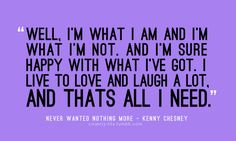 kenny chesney - never wanted nothing more lyrics