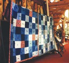 Make a quilt out of Levis