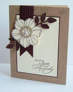 by Erna Logtenberg, Love To Stamp: Sneak Peak! stamp sets, card designs, secret gardens, sympathy cards, color, sneak peak, sympathi card, flower, banner